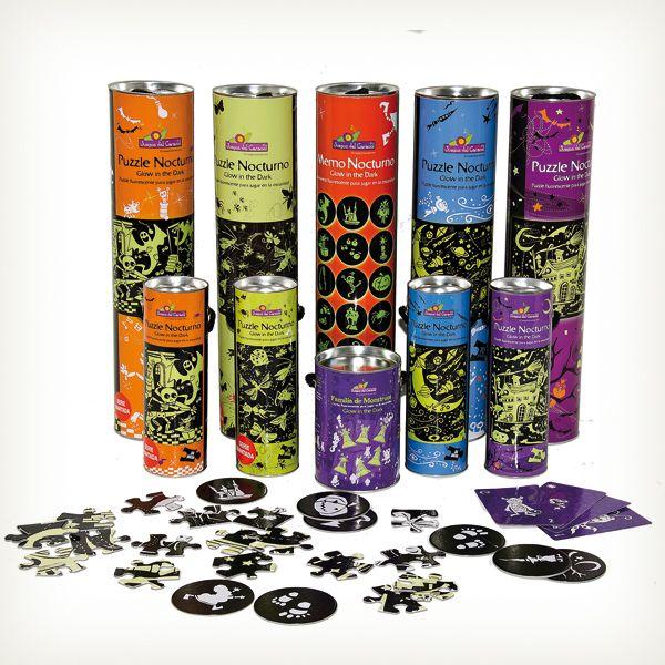 Juegos nocturnos para jugar en la oscuridad de Juegos del Caracol, distinguidos con el Sello de Buen Diseño 2013.