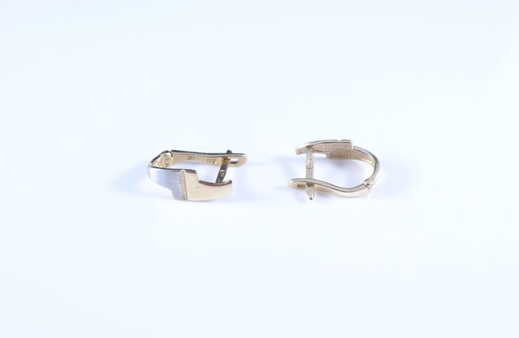 $136 14K Gold Earrings, info@bijuterie-online.ro.
