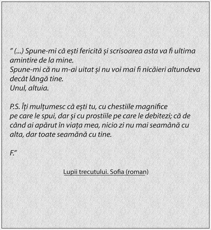 Citat Lupii trecutului. Sofia (carte, roman)