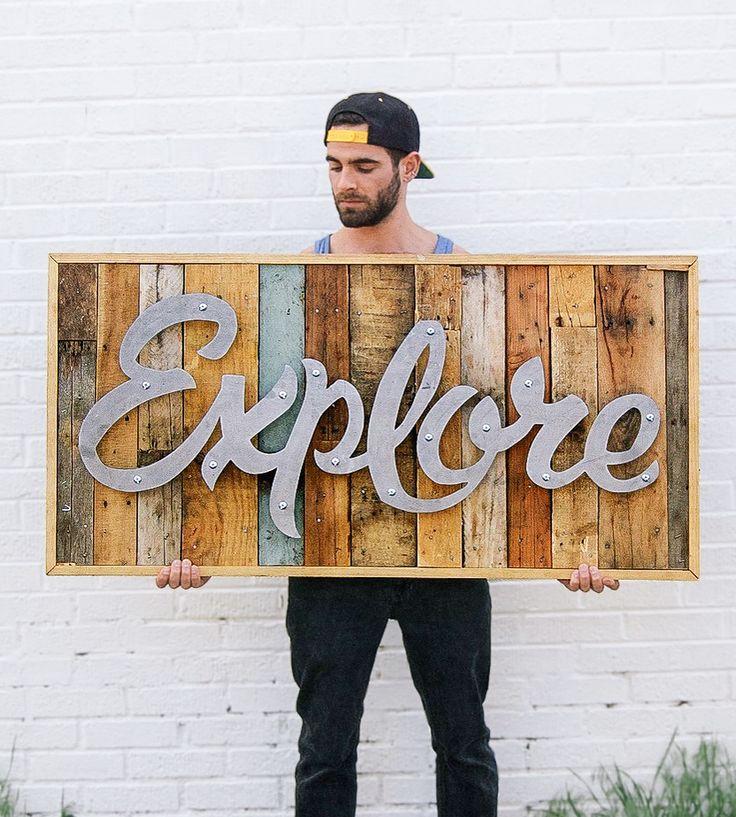 Explore Wood and Steel Wall Art by Vicarel Studios