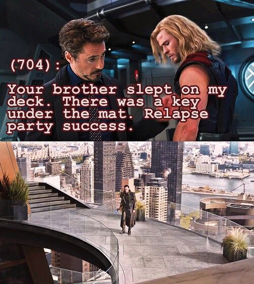 The Avengers Text