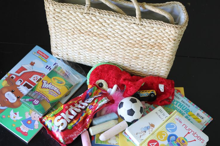 Babysitting Tips Fun Bag