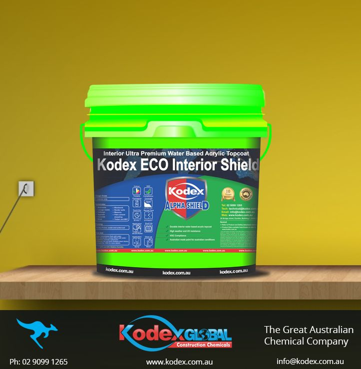 Decorate your bedrooms, lounge rooms, gyprock and hallways with a matt finish, low VOC low odour, moisture repellent coating - Kodex ECO Interior Shield. It protects your structure against UV, CO2, water, fungi, bacteria, algae and mould. To know more click: http://www.kodex.com.au/wp-content/uploads/2015/02/ECO-Interior.pdf  #Paint #Decor #InteriorPaint #coating