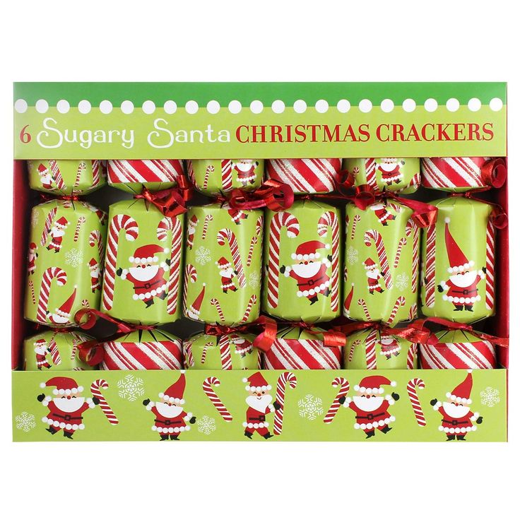 Sugary Santa Christmas Crackers