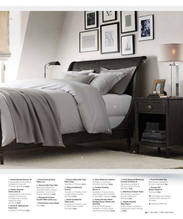 17 best images about h interior board 3 of 3 on pinterest diy platform bed diy bed frame - Small spaces restoration hardware set ...