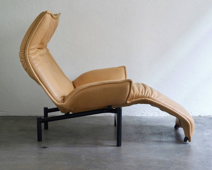 Veranda leather lounge chair by Vico Magistretti | From a unique collection of antique and modern lounge chairs at https://www.1stdibs.com/furniture/seating/lounge-chairs/