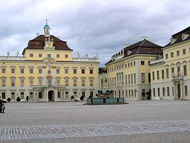 Ludwigsburg Palace, Ludwigsburg Germany.. beautiful Castle.. and Bluehendes Barrock.. gardens
