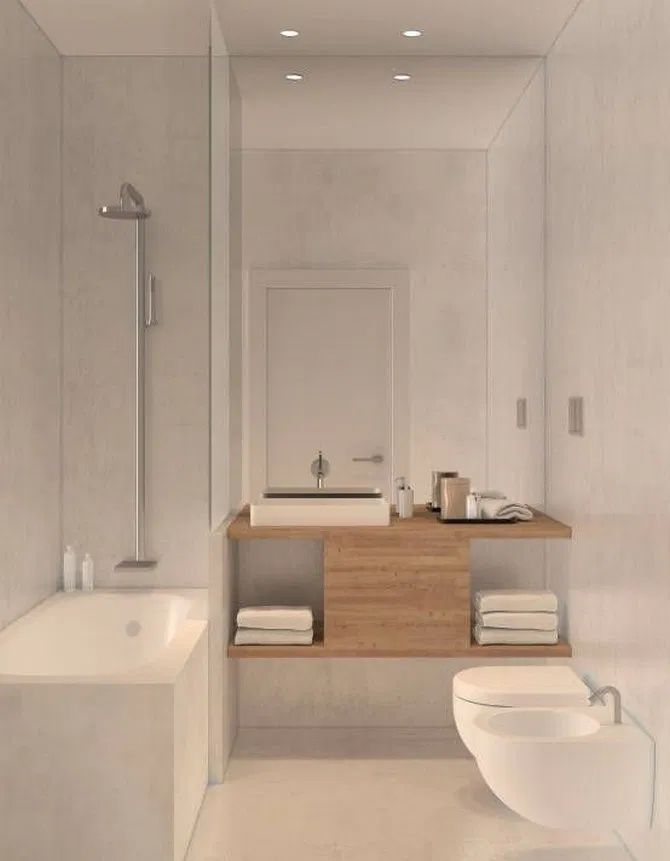 50 cool small bathroom ideas for minimalist houses 37 on cool small bathroom design ideas id=53982