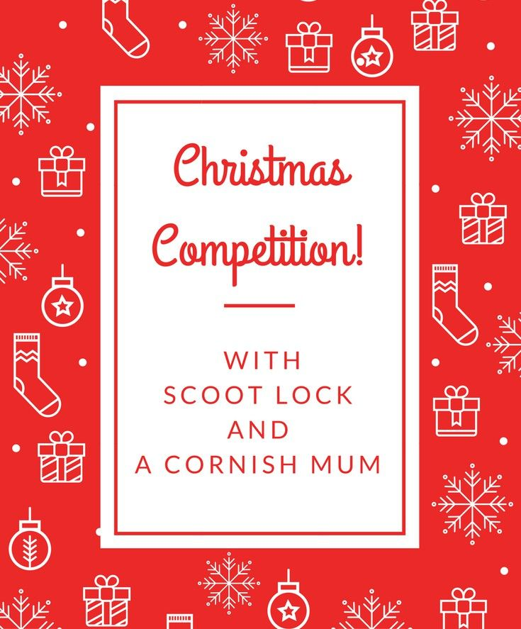 Christmas Competition via Gleam for a SCOOT Lock on the A Cornish Mum Blog. Giveaway UK.