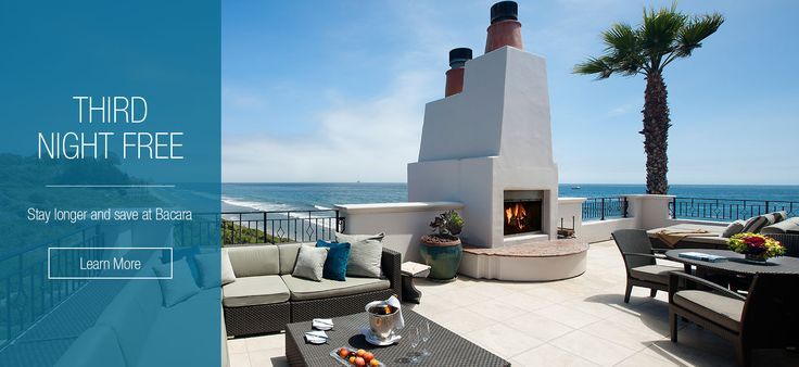 Discover one of the top hotels in Santa Barbara, CA - the Award-winning Bacara Resort and Spa. Oceanfront rooms, a luxury resort spa, and stunning weddings.