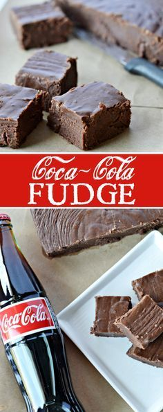 Coca-Cola Fudge Recipe: A quick and simple recipe for chocolate fudge with Coca-Cola cooked right inside. #SmartWayToShareJoy #ad