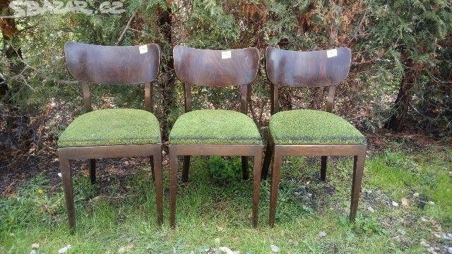 Staré jídelní židle. - obrázek číslo 1