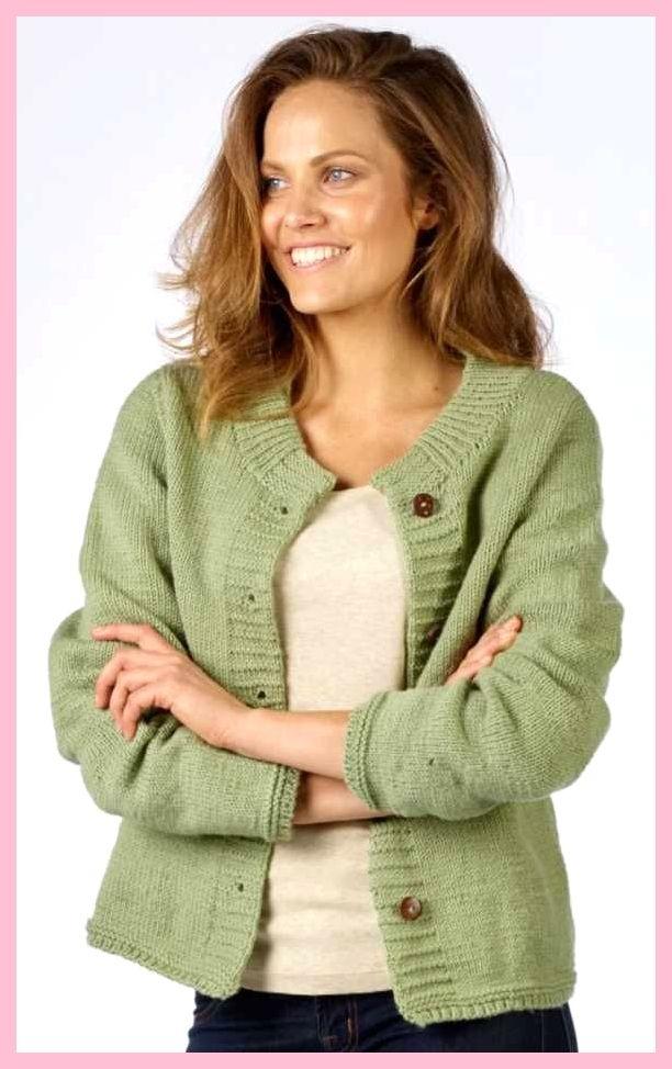 Hedendaags Eenvoudig dames tricotsteek vest Gratis breipatroon downloaden WD-17