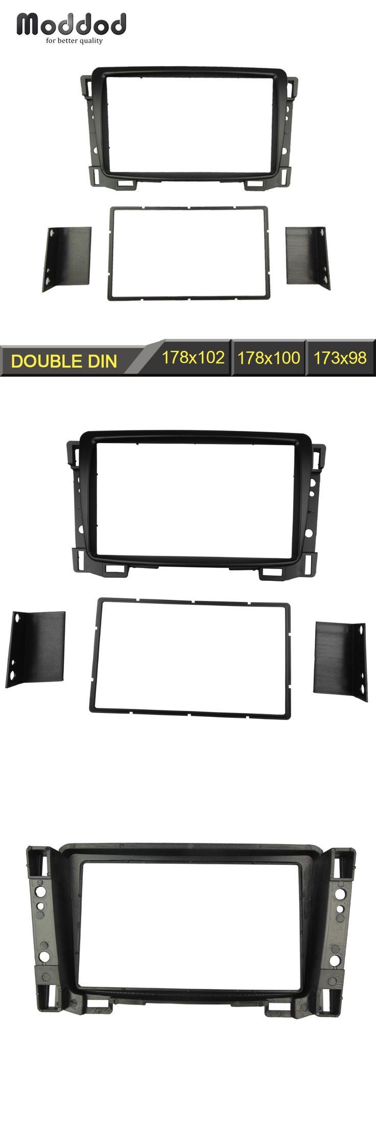 Radio Fascia for Chevrolet Sail Double 2 Din DVD Stereo Panel Dash Mount Install Trim Kit Refit Frame