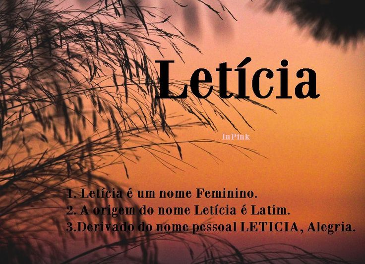 Leticia enchanted name