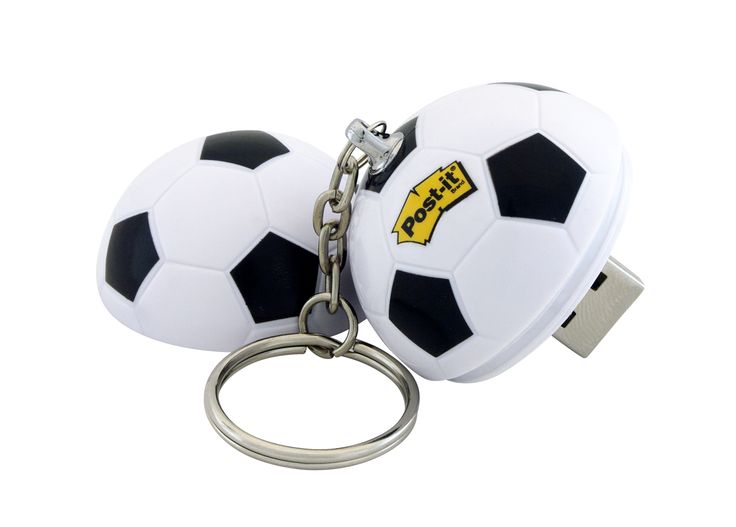 World Cup Brazil 2014 Promotional Giveaway - Post-it Soccer Ball 4GB USB - Photography by Emocean #Postit #ProductPhotography #WorldCup2014 #USB #Soccerball #ParramattaPhotography #EmoceanStudios