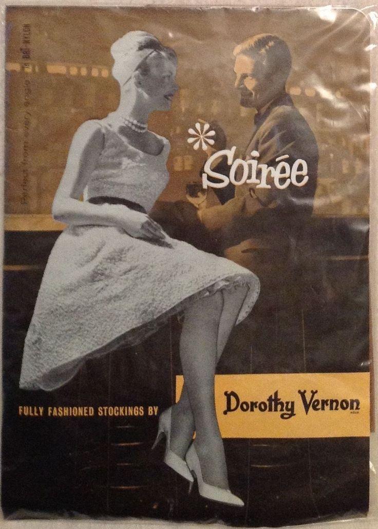 Vintage Dorothy Vernon Fully Fashioned Nylon Stockings