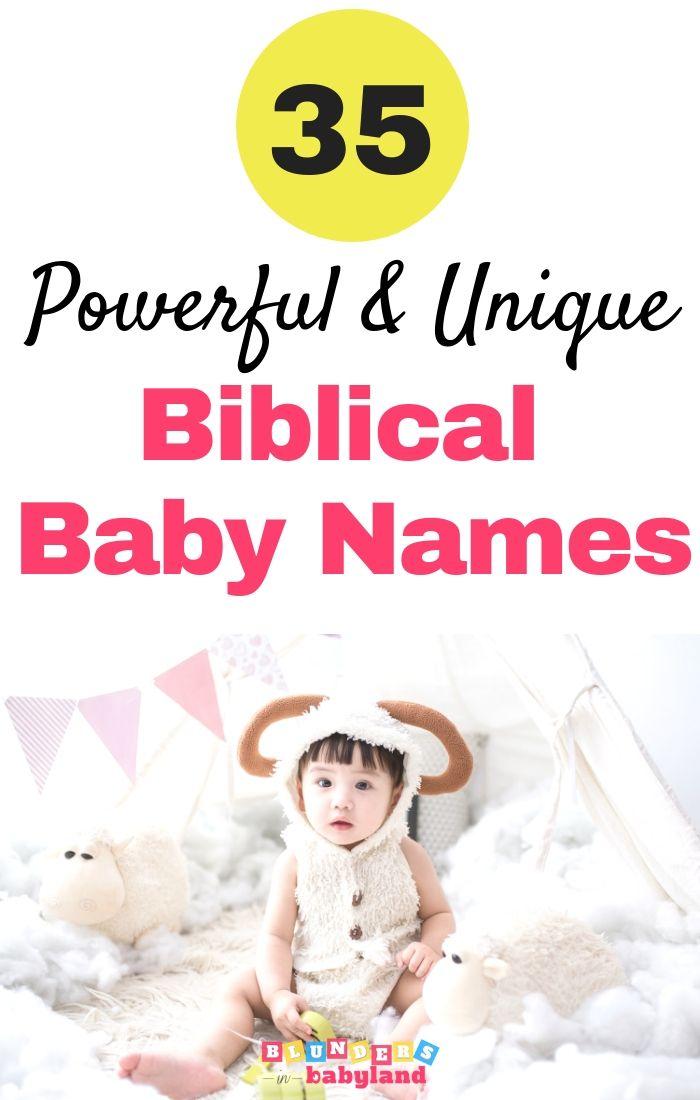 35 krachtige en unieke bijbelse babynamen voor jongens en meisjes