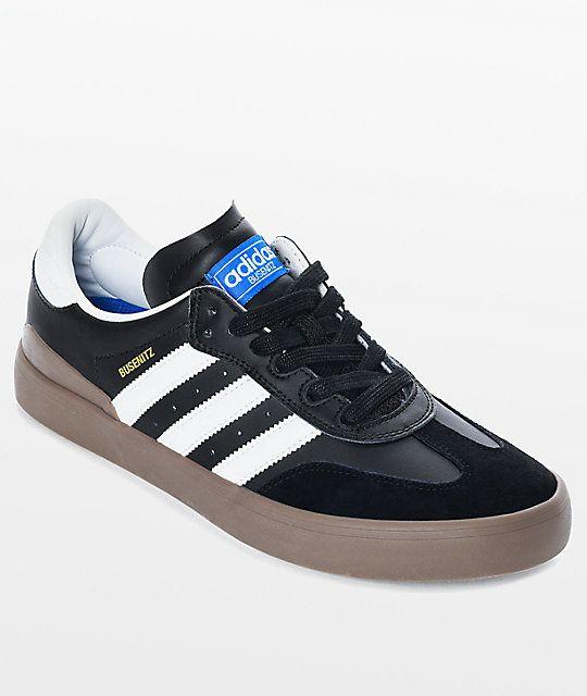 buy popular 2ee1c f9f69 adidas Busenitz Vulc Samba RX Black  White Shoes