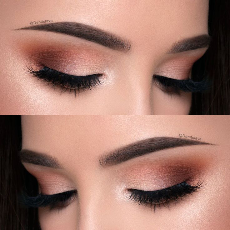 Makeup Geek Eyeshadows in Cocoa Bear, Morocco, Peach Smoothie and Shimma Shimma. Look by: Denitslava M