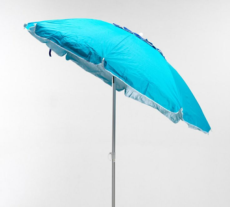 2 m aluminium beach umbrella with uv protection fabric, 8 fiberglass ribs.  Windproof vent to withstand even the windiest days. exclusive fabric patented by us with protection from harmful uv rays. http://www.idfdesign.com/beach-umbrella-bar-cafe-umbrella/co200uva.htm [ #design #designfurniture #Produce ]