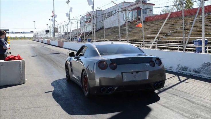 Crash in 2000 HP Godzilla GTR running 1600hp on Dirty Track set 60 foot ...