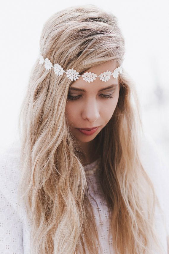 Hey, I found this really awesome Etsy listing at https://www.etsy.com/listing/191345028/daisy-headband-cream-daisy-headband
