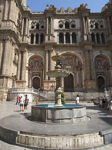 Cathedral, Malaga, Costa Del Sol, Spain