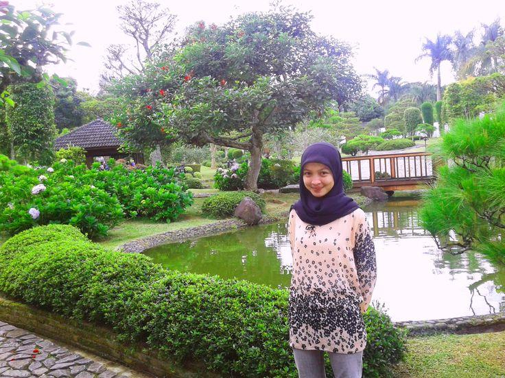 Taman Jepang, Taman Bunga Nusantara, Bogor, Indonesia #visitbogor