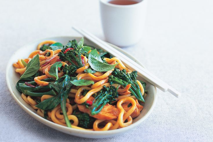 Get dinner on the table in around 20 minutes with this easy stir-fry.