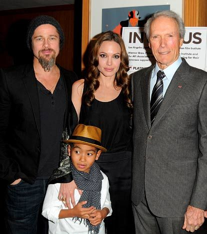 "Brangelina's Surprising BFFs!: Jolie and Eastwood, , 80, became buddies on the set of 2008's Changeling, in which he directed the actress. Eastwood dubbed their friendship ""Clintalina."" <----- LOL"