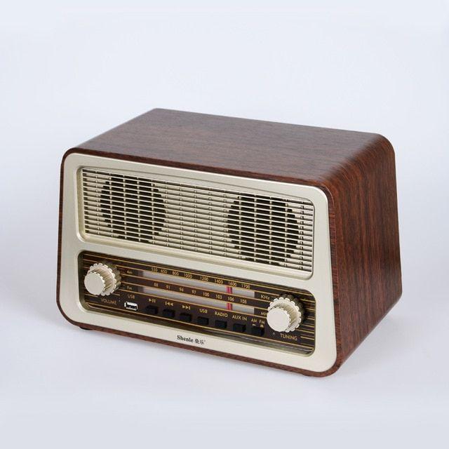 Https Ae01 Alicdn Com Kf Htb15muelfxxxxxxxvxxq6xxfxxxy Wool Antique Old Fashioned Vintage Radio Desktop Am Fm Home Use Radio Vintage Radio Retro Radios Radio