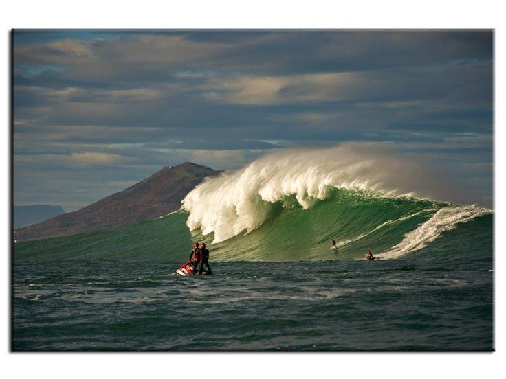 Photographie Belharra la vague du Pays Basque par Stéphane Salerno dans la catégorie Stéphane Salerno