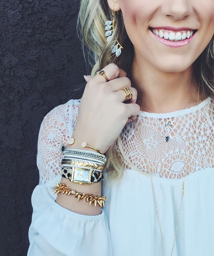 We're grinning ear to ear over our new arrivals! #stelladotstyle by @mackenzieholik #asherearrings
