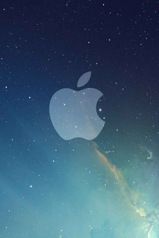 Apple Space Wallpaper