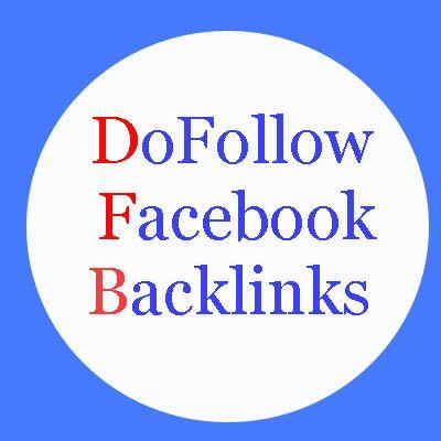 Get Dofollow Backlinks from Facebook