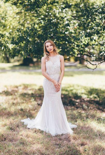Zara- soft vintage beaded elegance