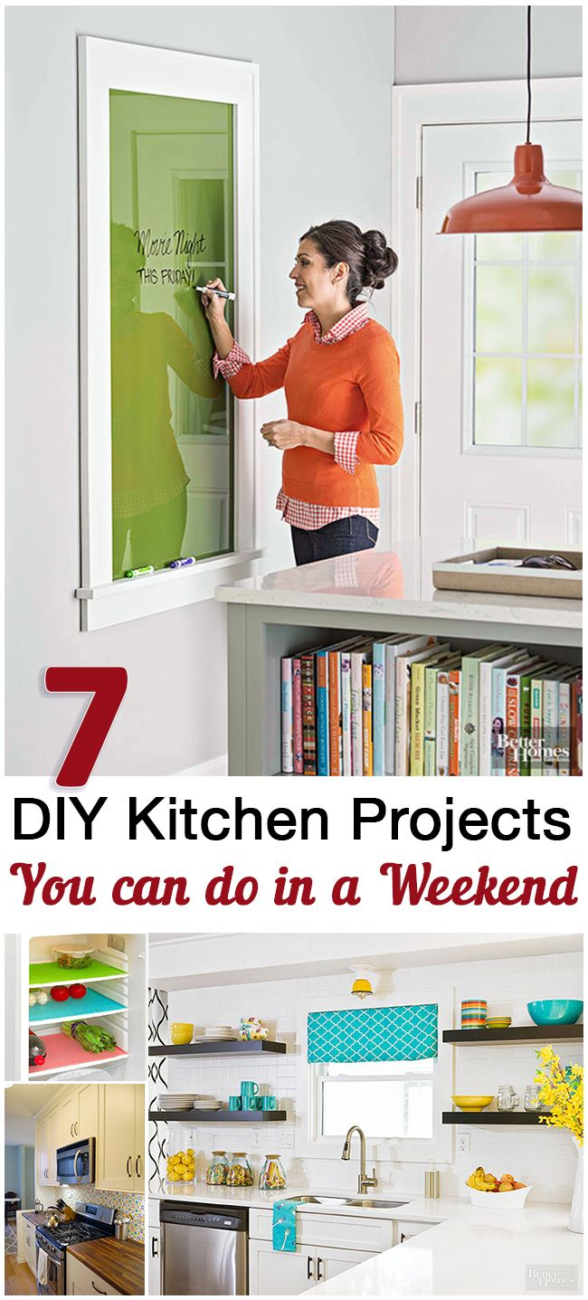 DIY Kitchen Projects You can do in a Weekend
