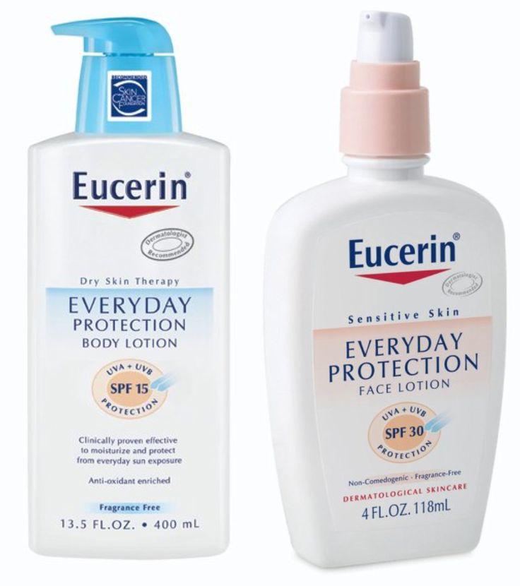 Eucerin Face & Body Sunscreen