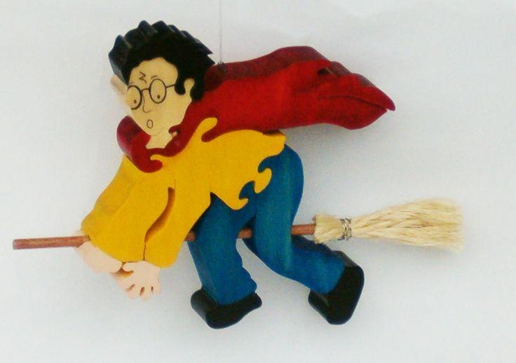 Harry Potter en madera http://maderas.bersus.ws