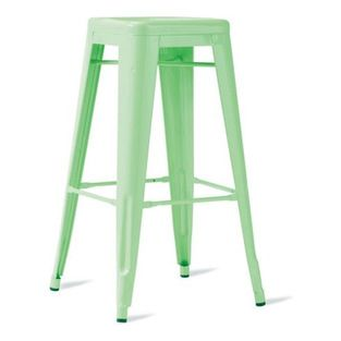 Tolix Marais Barstool | Design Within Reach - These classic stools from Tolix in France look  sc 1 st  Pinterest & 11 best barstools images on Pinterest | Counter stools Modern bar ... islam-shia.org