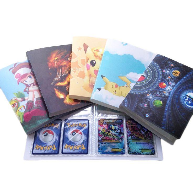 Pokemon Card Binder (Holds 112 Cards) //Price: $9.95 & FREE Shipping //     #pikachu