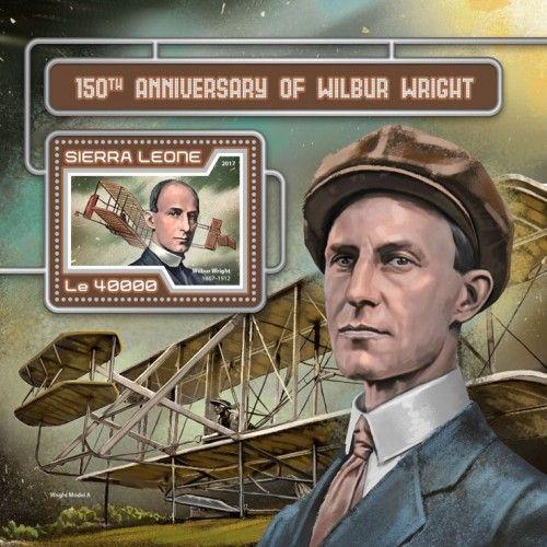 SRL17413b 150th anniversary of Wilbur Wright (Wilbur Wright (1867–1912))