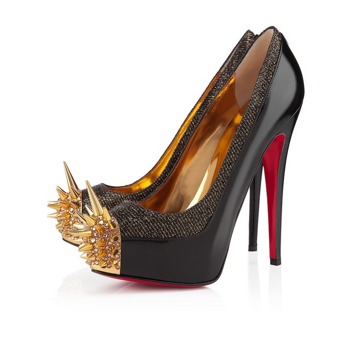Find this Pin and more on Dreaming Louboutin. Christian Louboutin -  Asteroid black ...