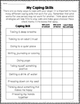 Anger Management Worksheets - Printable And Google Slides ...