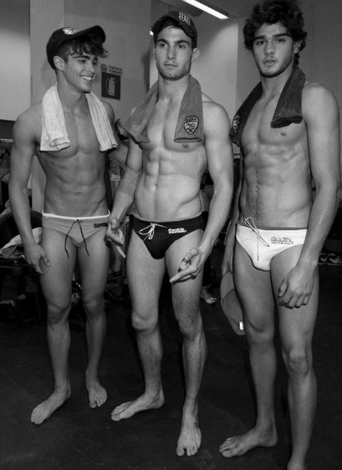 efa74305ea Marlon Teixeira's bulge impressed his male model friends. More hot men  @Adamb18