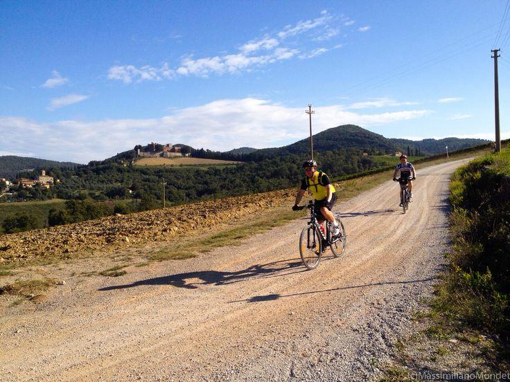 Eroica Permanent Route around Brolio!