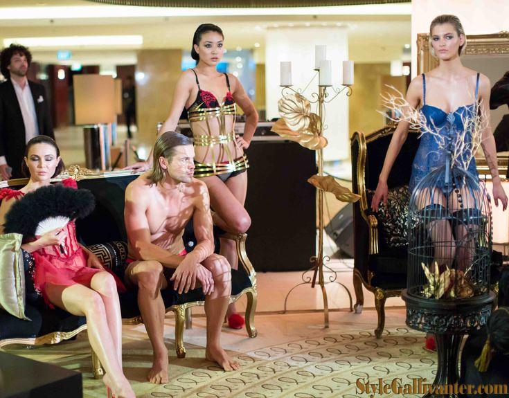 im Lingerie Launch - Crown Melbourne. More photos at www.stylegallivanter.com lingerie, avant garde lingerie runway shows, sleepwear trends, swimwear trends, undergarments, underwear style trends http://www.imboutique.com.au/imaustralia.html