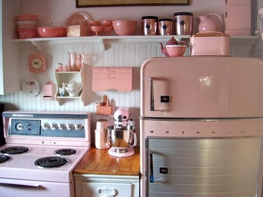 martha stewart kitchenaid mixer aqua pink retro appliances and accessories