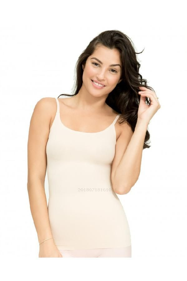 695f3d4fd33ba Custom Made Engrossing Womens Thinstincts Microfibre Camisole Shapewear  With Multiway Straps
